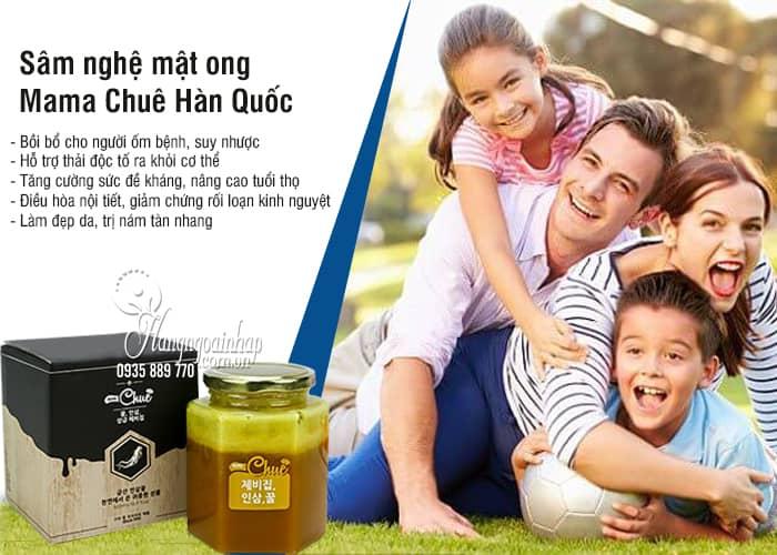 Sâm nghệ mật ong Mama Chuê Hàn Quốc chính hãng hũ 500g 2