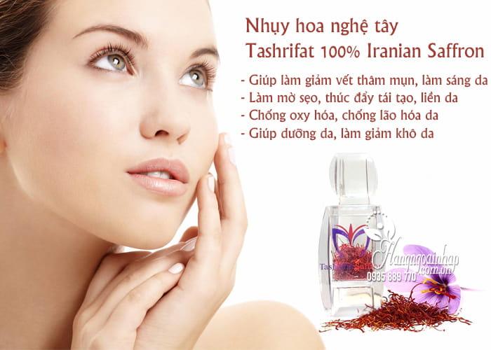 Nhụy hoa nghệ tây Tashrifat 100% Iranian Saffron chính hãng112