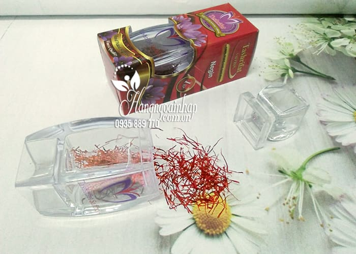 Nhụy hoa nghệ tây Tashrifat 100% Iranian Saffron chính hãng 111