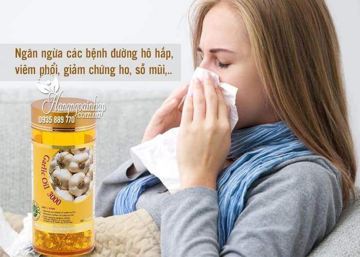 Tinh dầu tỏi Garlic Oil 3000mg Spring Leaf 365 viên của Úc 1