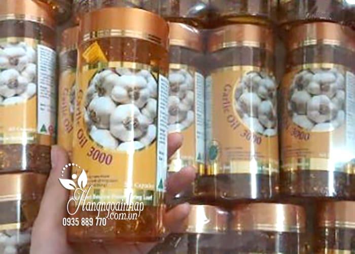 Tinh dầu tỏi Garlic Oil 3000mg Spring Leaf 365 viên của Úc 3