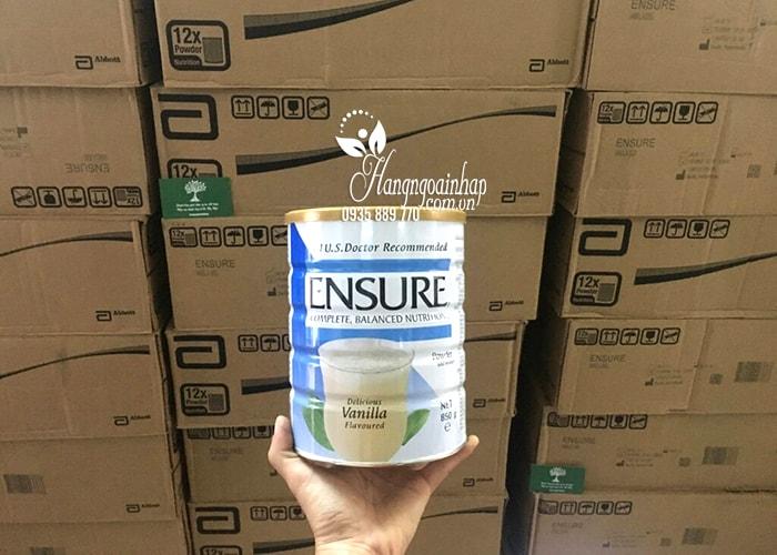 Sữa bột Ensure Complete Balanced Nutrition 850g nhập từ Singapore tại Hàng Ngoại Nhập