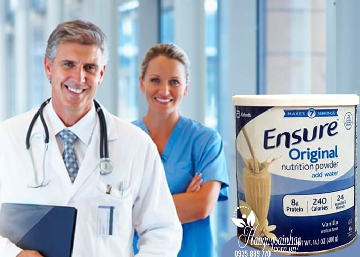 Sữa bột Ensure Original Nutrition Powder hộp 400g của Mỹ 2