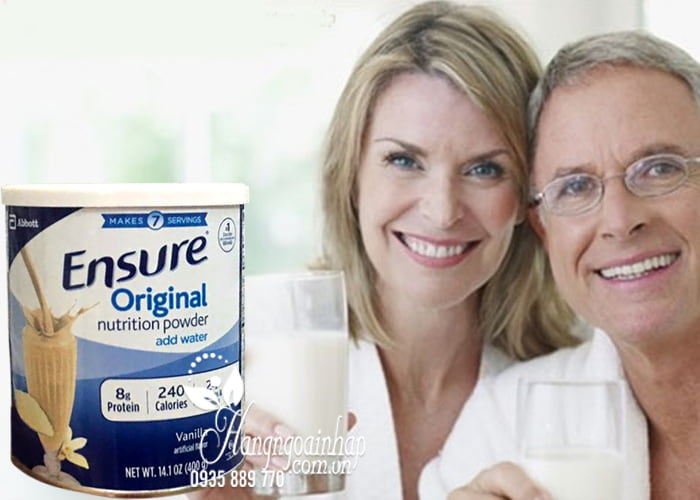 Sữa bột Ensure Original Nutrition Powder hộp 400g của Mỹ 3
