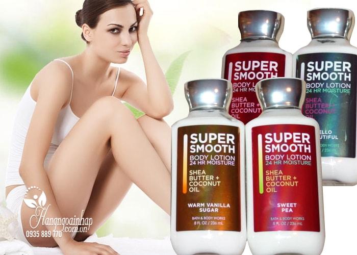 Sữa dưỡng thể Bath and Body Works Super Smooth 236ml của Mỹ