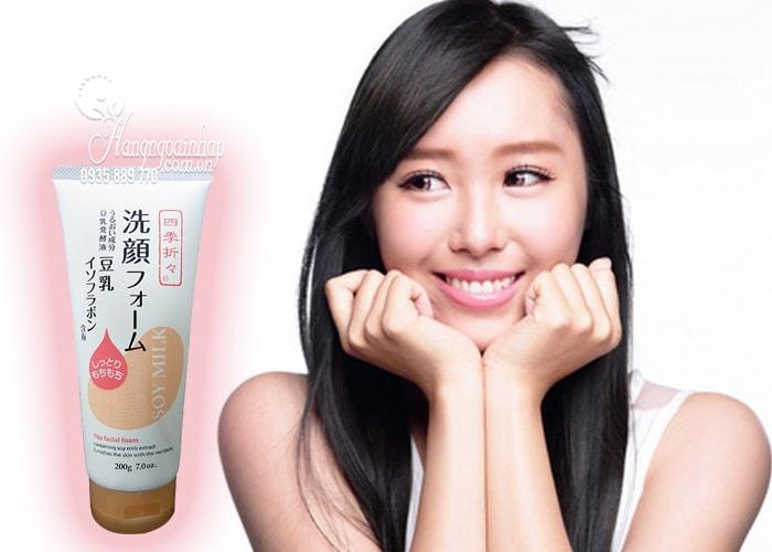 Sữa rửa mặt dưỡng ẩm sữa đậu nành Soy Milk The Facial Foam 4
