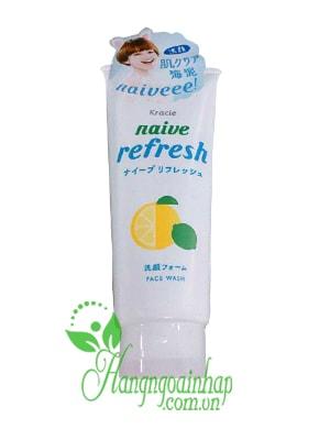 Sữa rửa mặt Kracie Naive Face Wash 130g của Nhật Bản