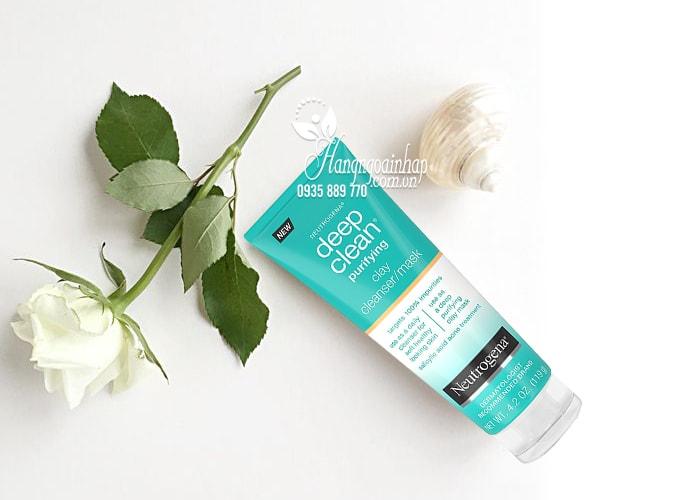 Sữa rửa mặt Neutrogena Deep Clean Cleanser/Mask 119g của Mỹ