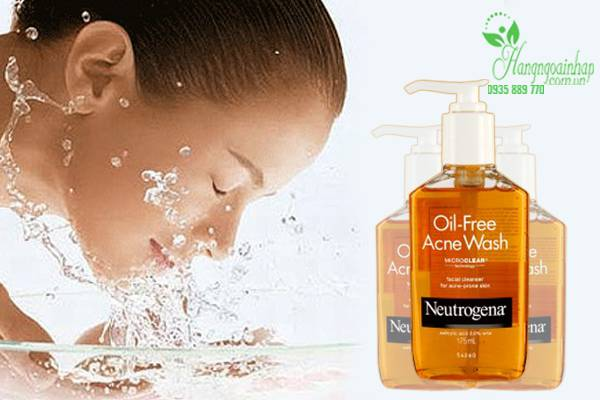 Sữa rửa mặt Neutrogena Oil Free Acne Wash 177ml - MP00244BS.02