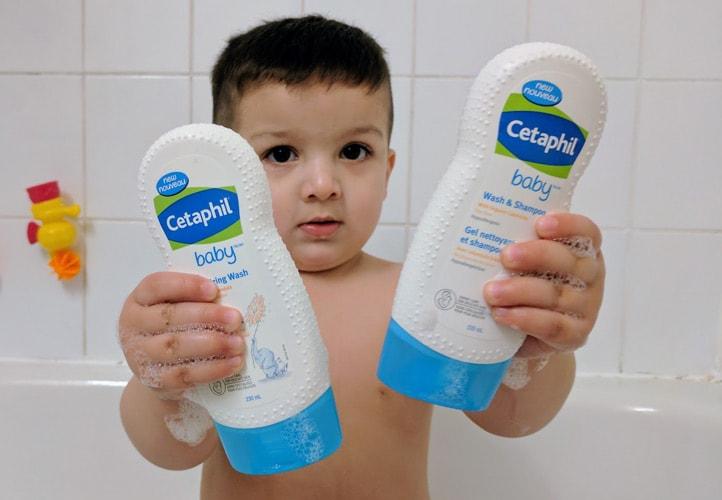 Sữa tắm Cetaphil Baby có tốt không? Mua ở đâu?