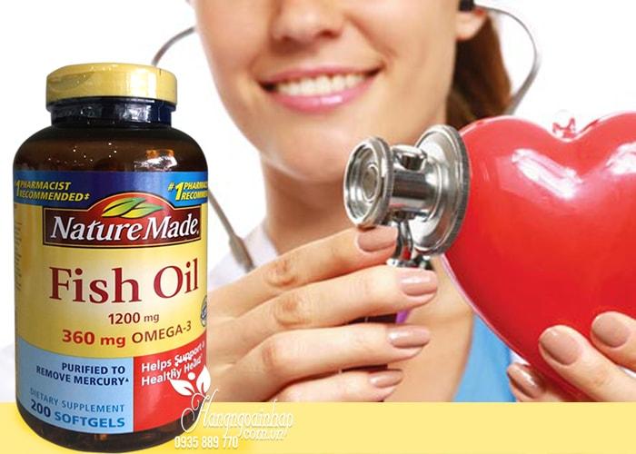 Dầu Cá Nature Made Fish Oil 1200mg Omega 3 Hộp 200 Viên Của Mỹ (4)