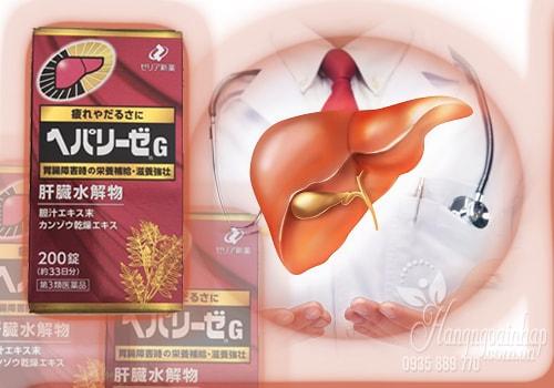 Thuốc bổ gan Hepalyse EX 200 viên của Nhật Bản