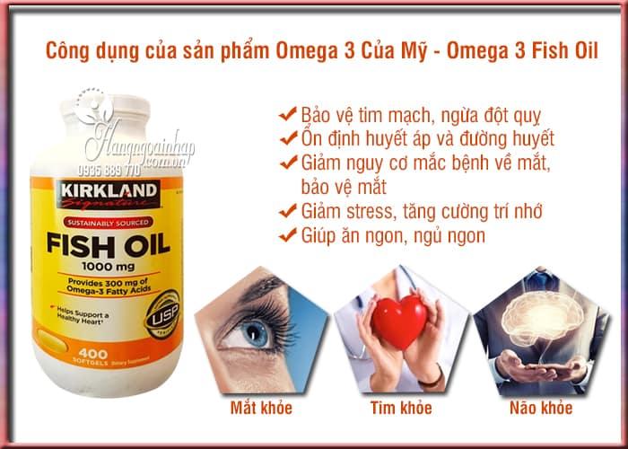 Omega 3 Của Mỹ - Omega 3 Fish Oil 1000mg Kirkland 10