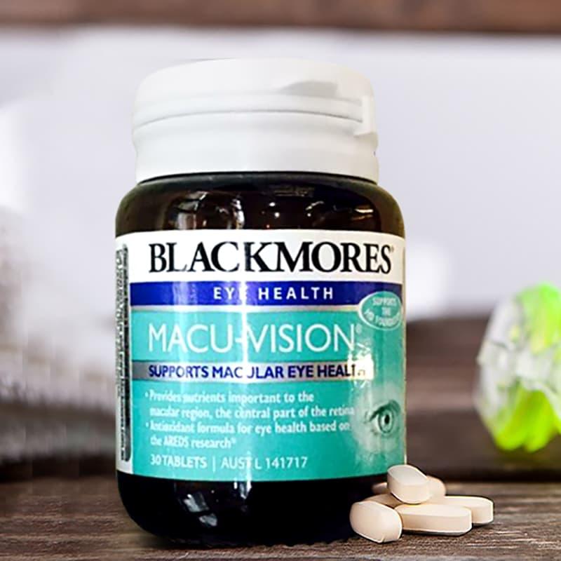 Thuốc bổ mắt Blackmores Macu-Vision 30 viên của Úc, giá tốt 1