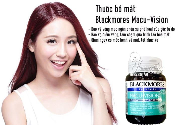 Thuốc bổ mắt Blackmores Macu-Vision 30 viên của Úc, giá tốt 3