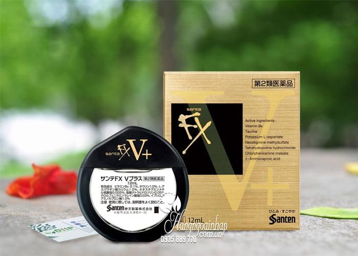 Thuốc nhỏ mắt Santen FX vàng 12ml chính hãng Nhật Bản 1