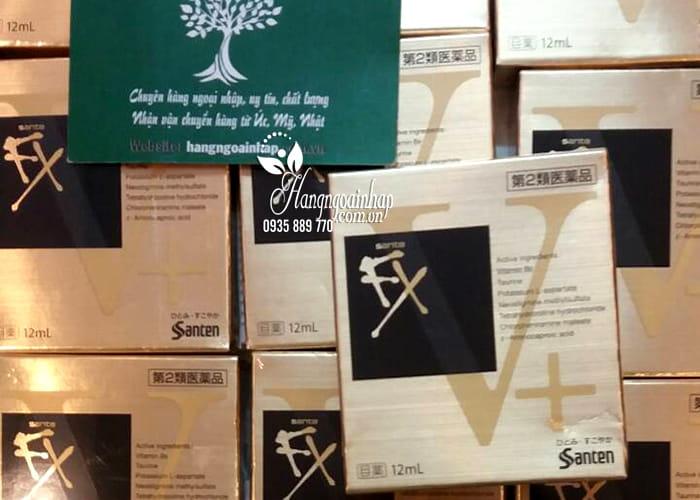 Thuốc nhỏ mắt Santen FX vàng 12ml chính hãng Nhật Bản 5