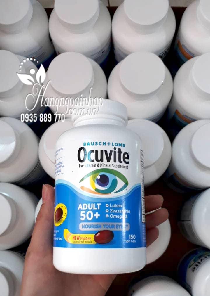 Viên uống bổ mắt Ocuvite Adult 50+ cho người lớn trên 50 4