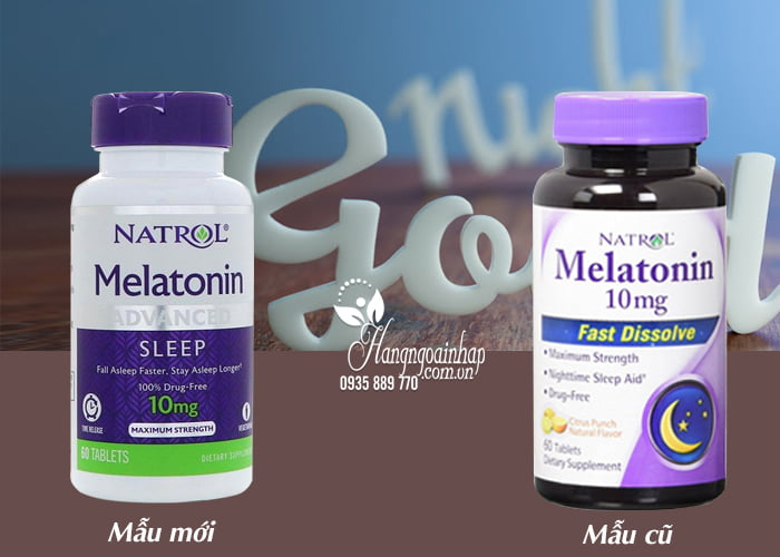 Natrol Melatonin 10mg của Mỹ 60 viên – Hỗ trợ điều trị bệnh mất ngủ 8