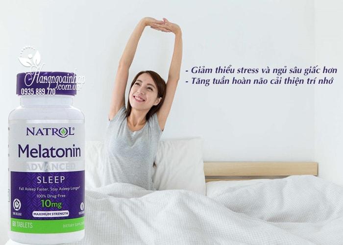 Natrol Melatonin 10mg của Mỹ 60 viên – Hỗ trợ điều trị bệnh mất ngủ 4