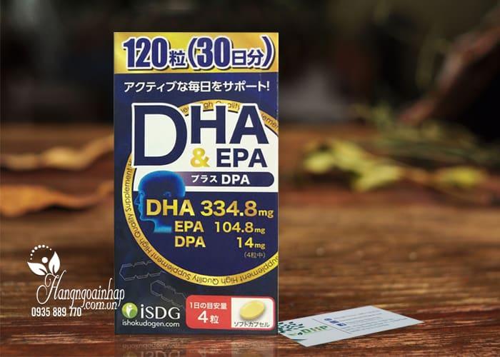 Thuốc bổ não DHA EPA và DPA của Nhật Bản hộp 120 viên 1