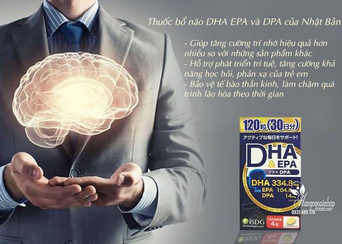 Thuốc bổ não DHA EPA và DPA của Nhật Bản hộp 120 viên 5