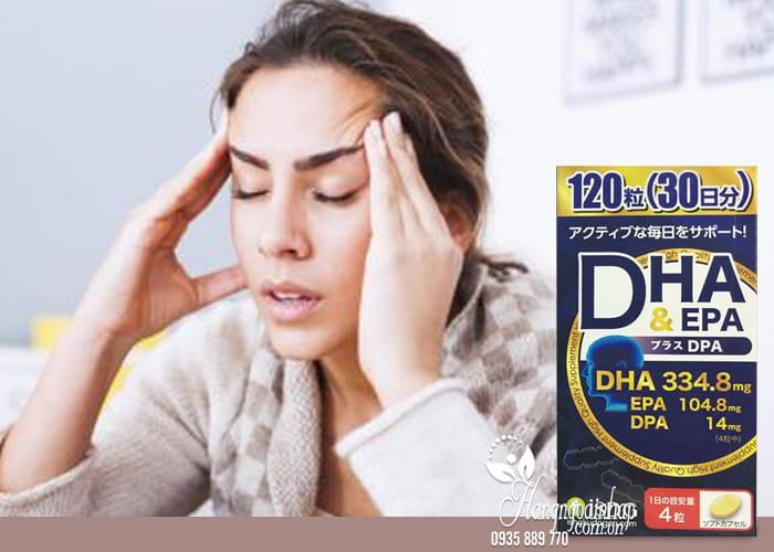 Thuốc bổ não DHA EPA và DPA của Nhật Bản hộp 120 viên 2