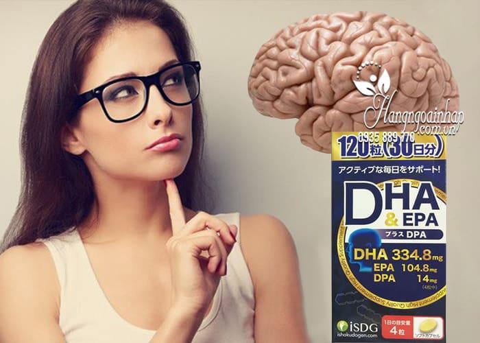 Thuốc bổ não DHA EPA và DPA của Nhật Bản hộp 120 viên 3