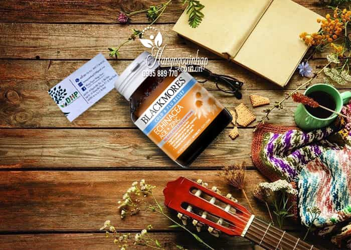 Thuốc hỗ trợ điều trị cảm cúm Blackmores Echinacea ACE + Zinc 1