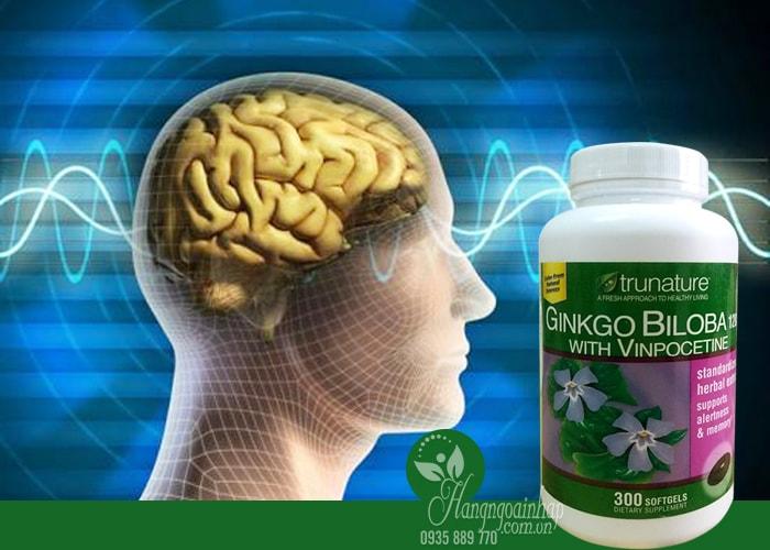 Ginkgo Biloba - Tăng cường tuần hoàn não - Hộp 300 viên của Mỹ