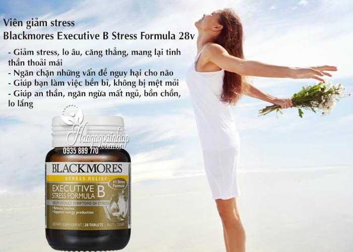Viên giảm stress Blackmores Executive B Stress Formula 28v 3