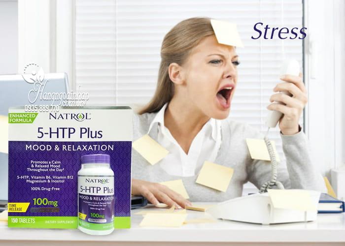 Viên hỗ trợ giảm căng thẳng Natrol 5-HTP Mood & Relaxation 2