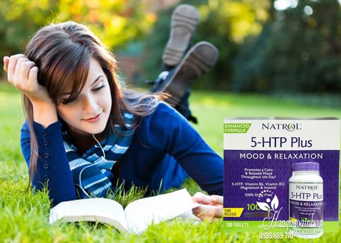 Viên hỗ trợ giảm căng thẳng Natrol 5-HTP Mood & Relaxation 4