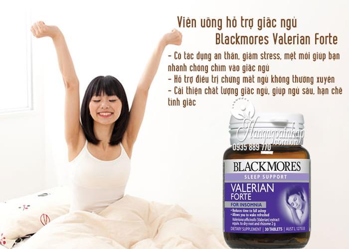 Viên uống hỗ trợ giấc ngủ Blackmores Valerian Forte 2000mg Úc 3