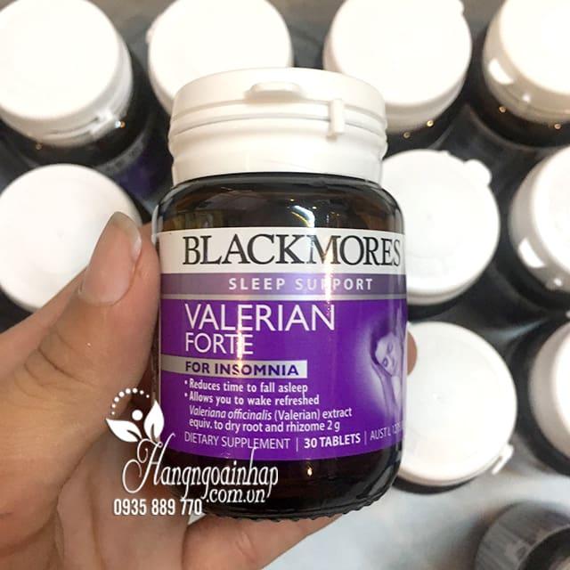 Viên uống hỗ trợ giấc ngủ Blackmores Valerian Forte 2000mg Úc 4