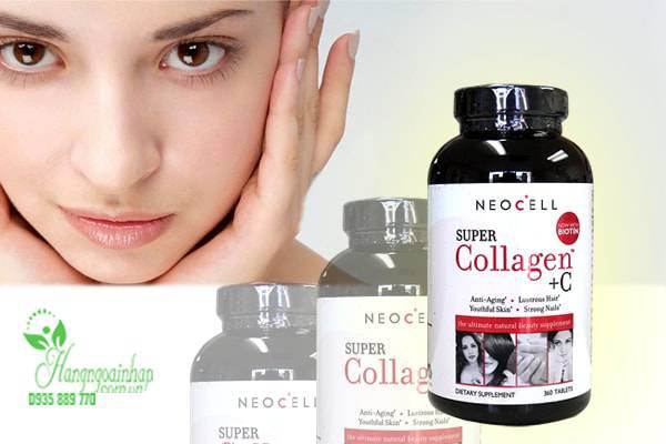 Neocell Super Collagen +C Type 1&3 360 Viên của Mỹ, giá tốt 2