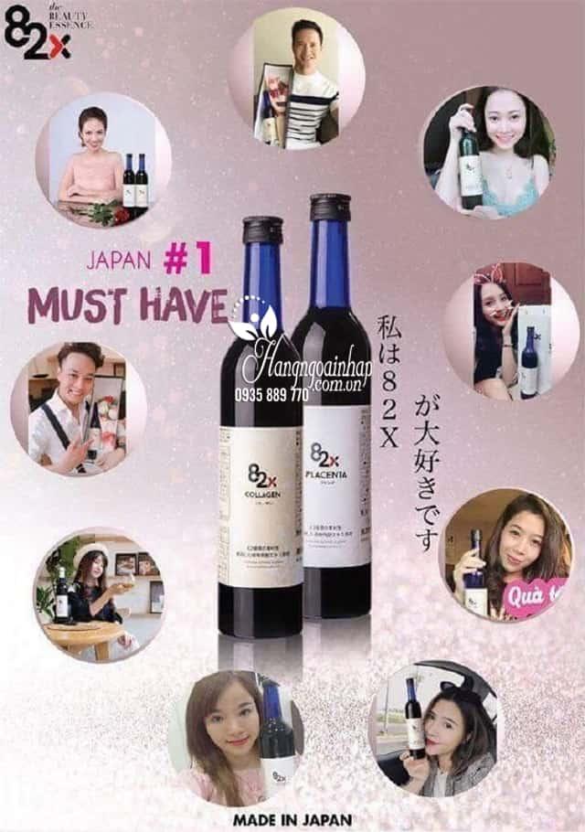 Nước uống Collagen 82x của Nhật 120.000mg - Ngừa lão hóa 5