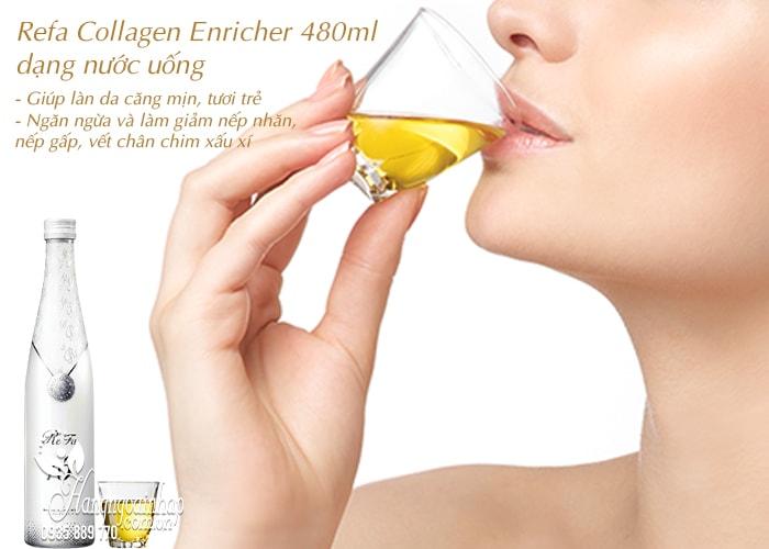 Refa Collagen Enricher 480ml dạng nước uống chính hãng 4