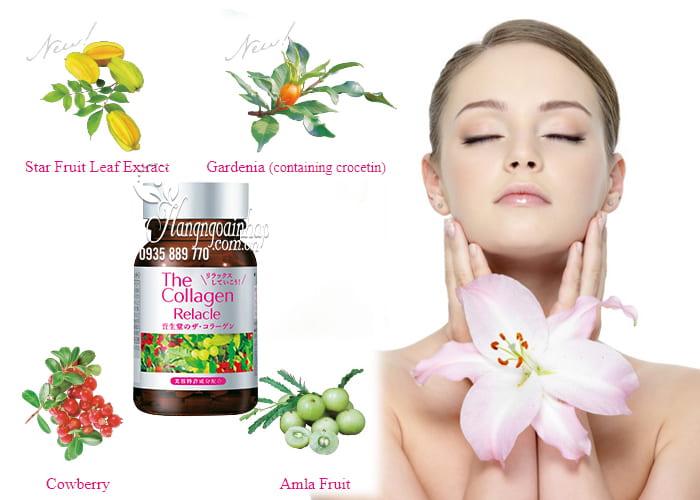 The Collagen Relacle Shiseido dạng viên vị trái cây của Nhật 5