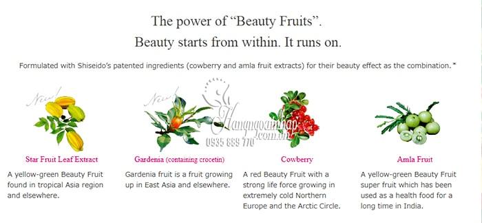 The Collagen Relacle Shiseido dạng viên vị trái cây của Nhật 3