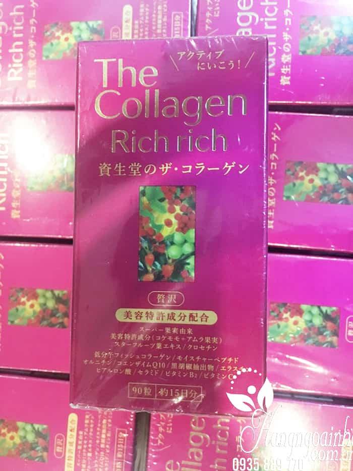 The Collagen Rich Rich Shiseido  dạng viên của Nhật