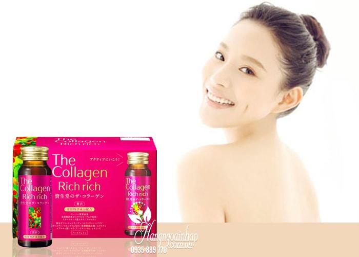 The Collagen Rich Rich Shiseido, Collagen dạng nước của Nhật 2