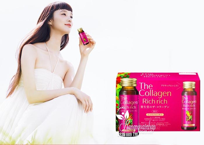 The Collagen Rich Rich Shiseido, Collagen dạng nước của Nhật 4