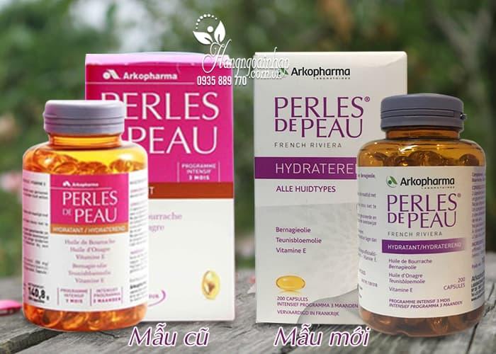 Viên uống đẹp da Collagen Perles De Peau Hydratant 200 viên của Pháp 1