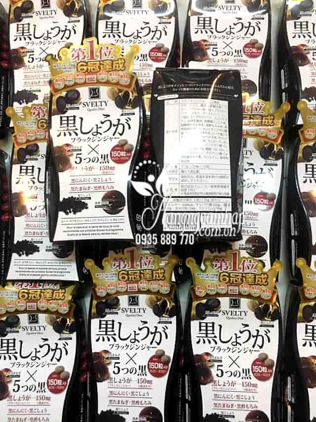 Thuốc giảm cân Svelty Quality Diet 150 viên số 1 của Nhật Bản 5