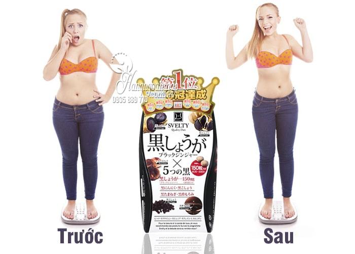 Thuốc giảm cân Svelty Quality Diet 150 viên số 1 của Nhật Bản 1