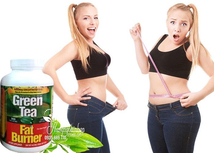 Thuốc Giảm Cân Trà Xanh Green Tea Fat Burner 400mg Hộp 200 Viên
