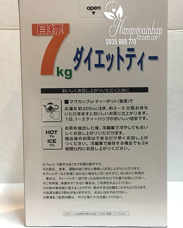 Trà giảm cân Showa Seiyaku hộp 30 gói của Nhật Bản 4