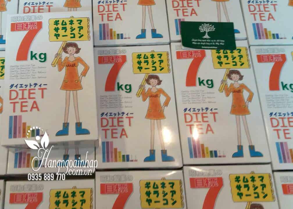 Trà giảm cân Showa Seiyaku hộp 30 gói của Nhật Bản 5