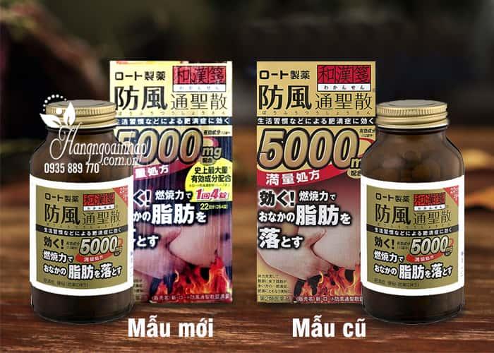 Viên uống giảm mỡ bụng Rohto 5000mg 264 viên của Nhật Bản 1